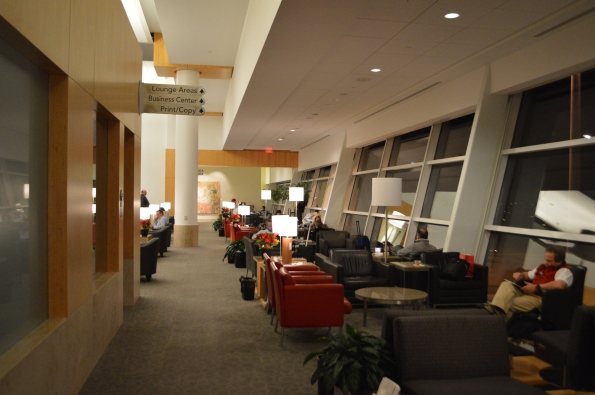 Admirals Club in Dallas, Terminal D