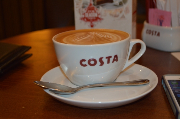 Costa Coffee - BEst way to start off the day!