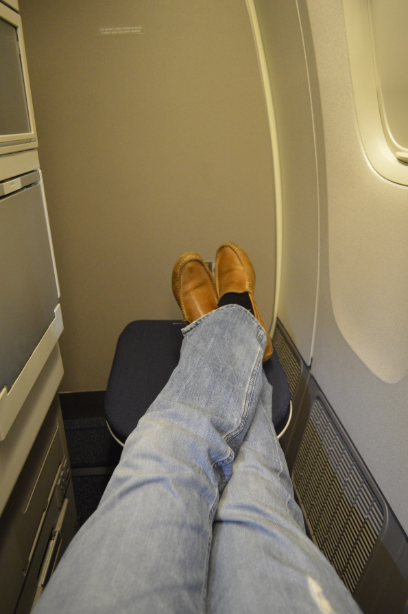 Nice legroom