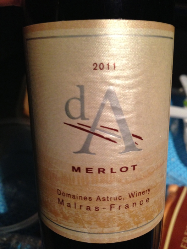 I usually don't go crazy for Merlot, but this one was very decent.