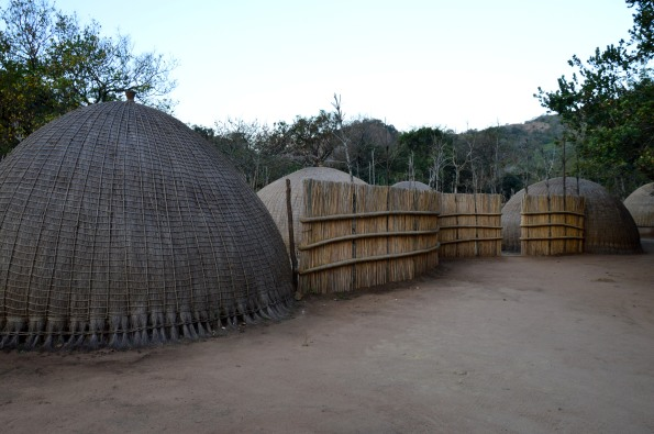 Recreation of a traditional Swazi village