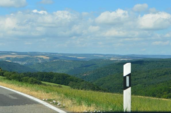 Hills around the Rhine valley