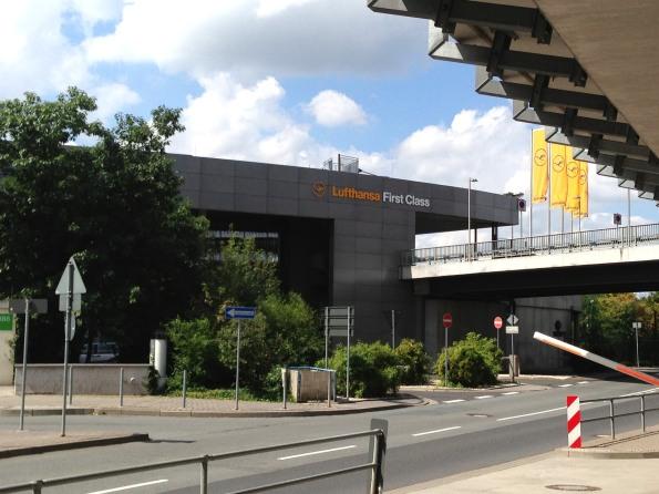 Approaching the terminal