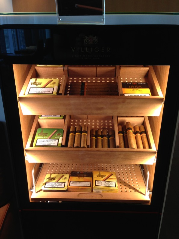 Cigar selection