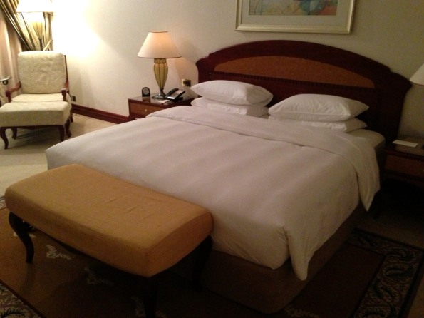 King bed - very comfortable