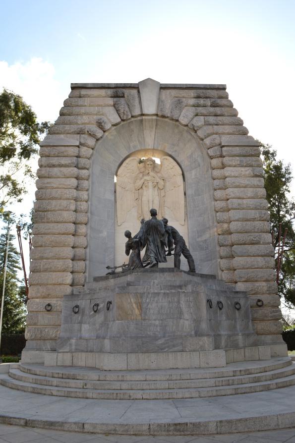 WWI Monument, along Victoria Pde