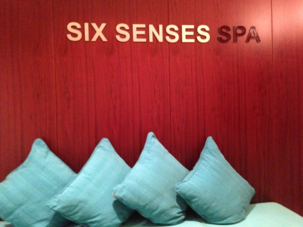 Six Senses Spa - A much needed massage before a long flight