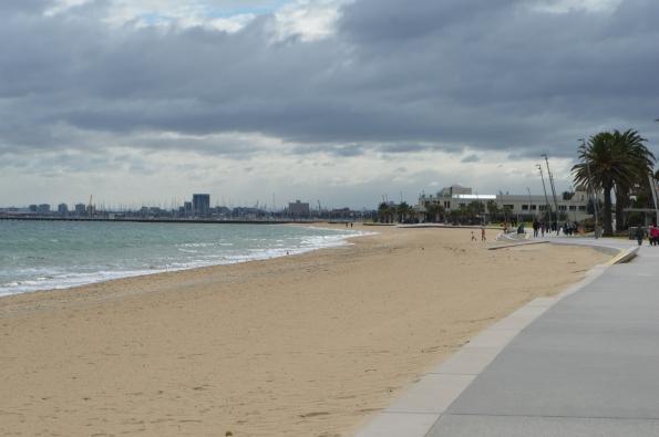 The beach of St. Kilda