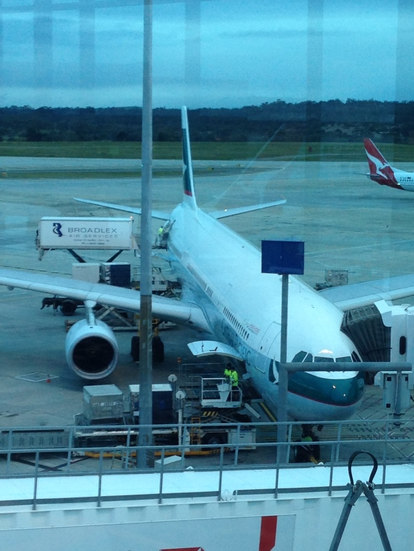 Cathay Pacific's 77W