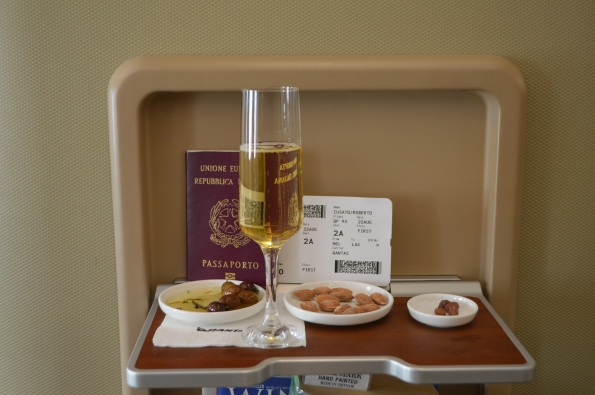 Pre-Departure drink and snacks