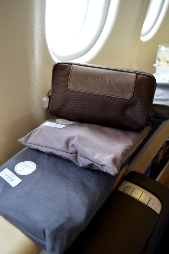 Amenity kit and pj