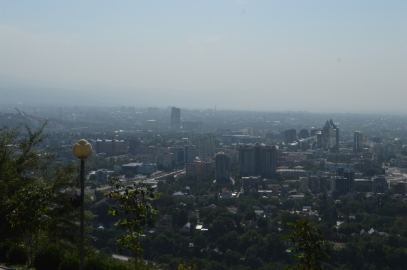 View of Almaty from Kok-Tobe hill