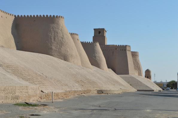 Khiva's Western Walls
