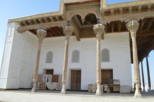Juma mosque inside the Ark