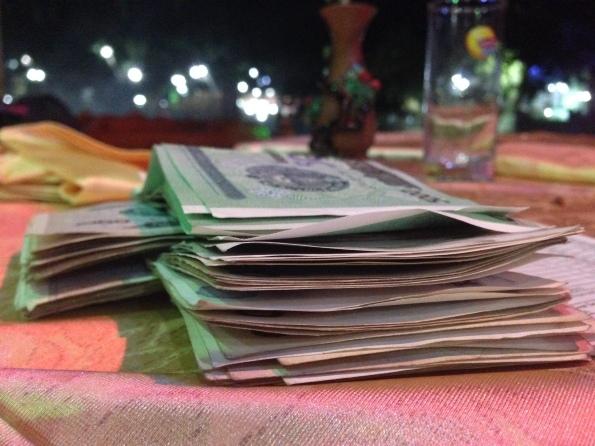 My bill: $20