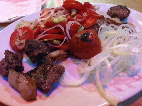 Most amazing beef shashlik!