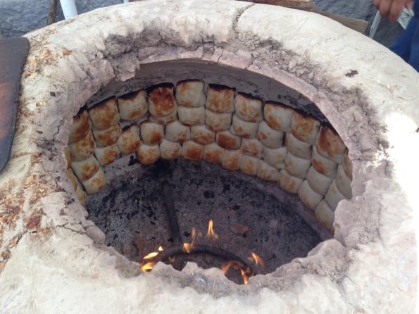 Tandoor cooking samsa