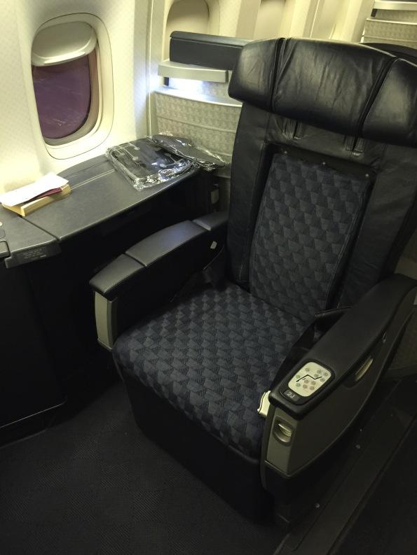 My seat, 2J