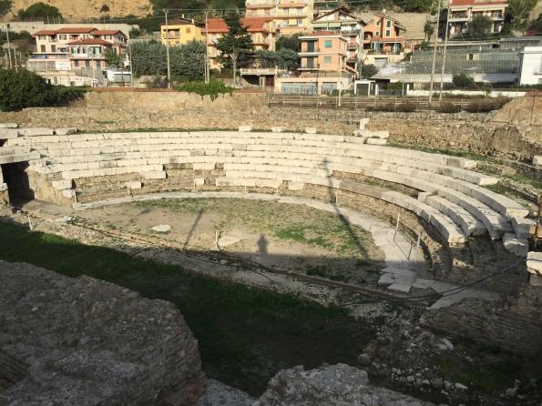 Roman theatre in Ventimiglia