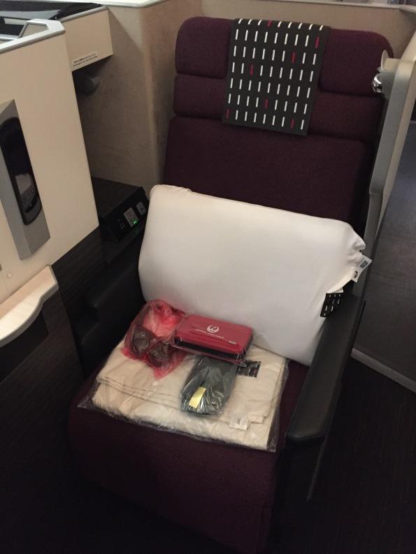 My seat, 4H