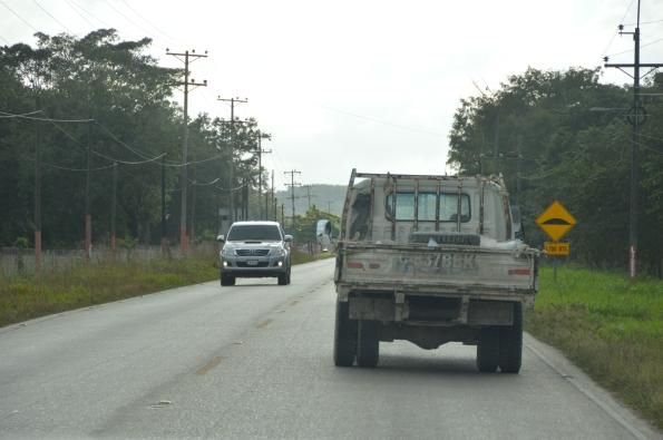 Road to Tikal