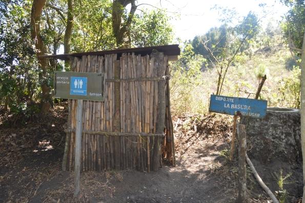 Rustic toilets