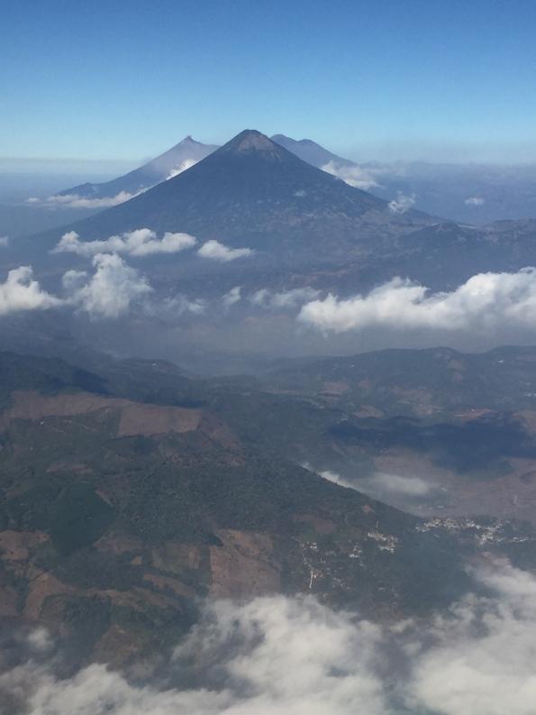 Splendid view over the volcanoes