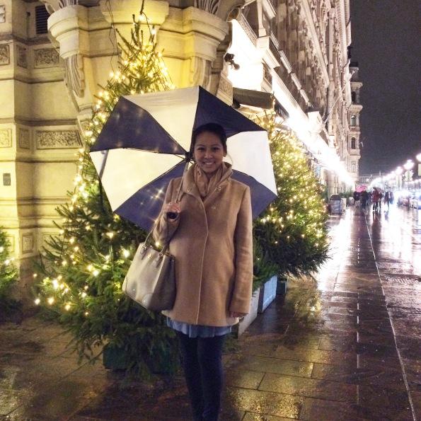 Rainy evening on the Esplanadi