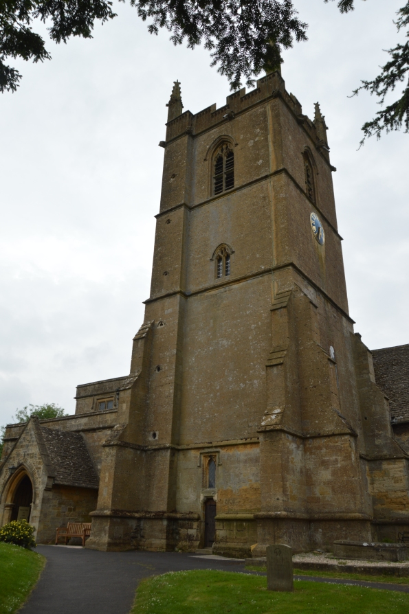 Cots-on-Wolds church