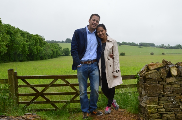On the way to Chipping Campden