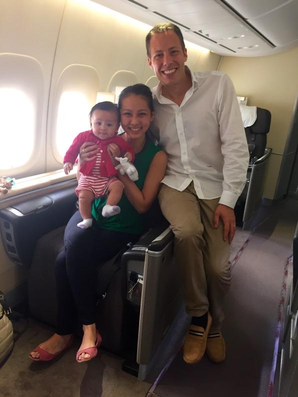 Pre-departure family pic
