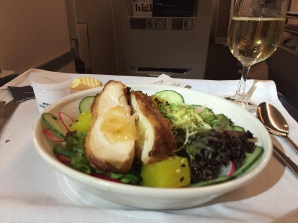 Salad to JFK