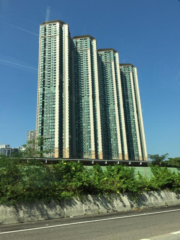 Typical Hong Kong housing complex