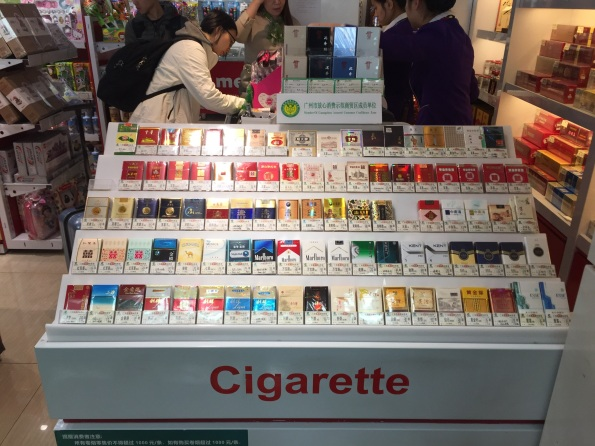 Chinese love their cigarettes