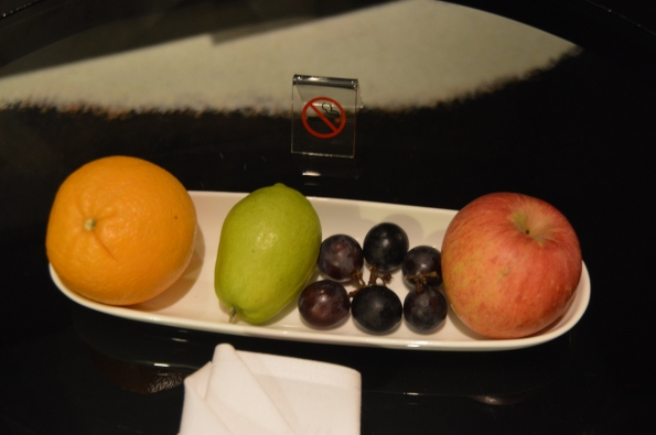 Welcome fruit for Hilton Diamonds