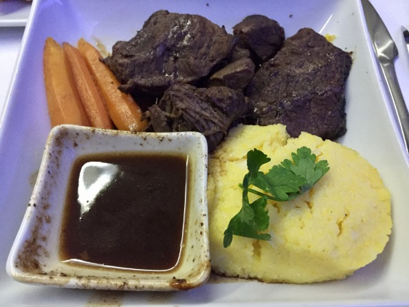 Beef on AA back in December, business class LHR-JFK
